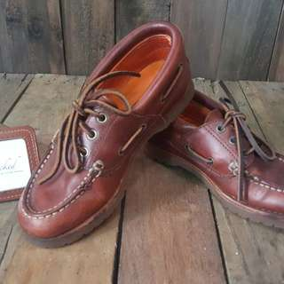 Timberland Boat Shoes Leather