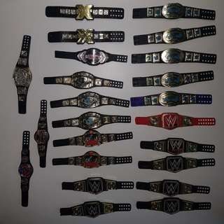 WWE Figure Belts