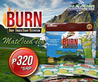 Burn Matte Ice tea