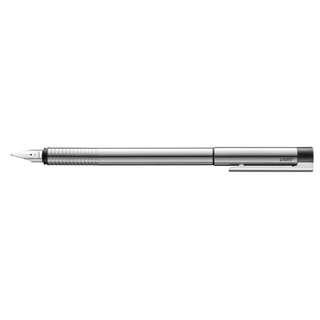 LAMY Logo Matt Stainless Steel Fountain Pen (VT-005-SS-M)