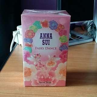 *Sale* BNIB Anna Sui Fairy Dance Secret Wish Eau De Toilette Vaporisateur Natural Spray 50ml