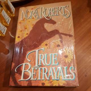 GARAGE SALE 'True Betrayals' by Nora Roberts (Hardbound)
