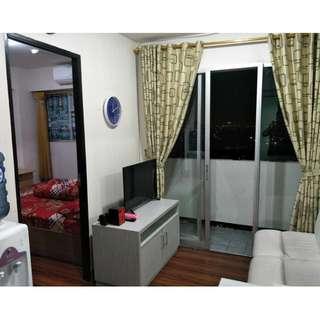 Unit harian full furnish 1BR di apartemen Sentra Timur Residence