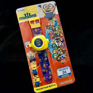 🌈 Minions party supplies - Projector watch / party gifts / goodie bag gifts