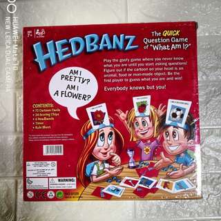 Hedbanz Question Game