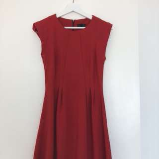 Red Minidress from Topshop