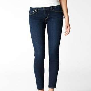 Levis jeans. Blue Demi Curve  Modern rise