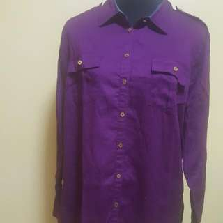 Long Sleeves Polo Shirt On Sale Repriced