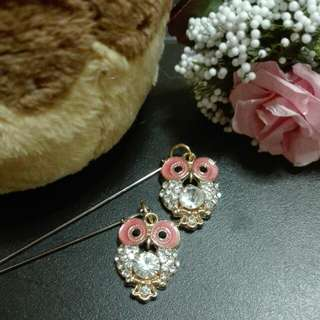 Dangling Owl Hijap Pin