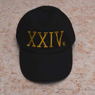 Bruno Mars 24k Black Cap Merch