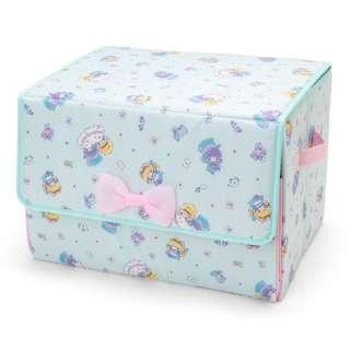 日本代購 sanrio 專門店 2018年 2月 little twin stars  折疊式収納箱