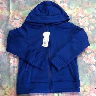 New Uniqlo Zip Up Fleece Jacket in Blue