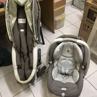 Baby Trolley and car seat for sell