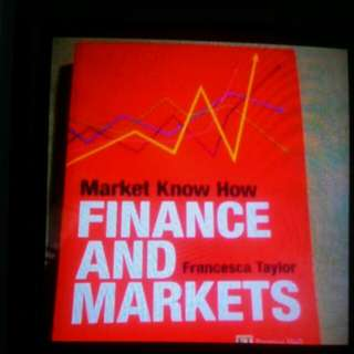 Finance and market