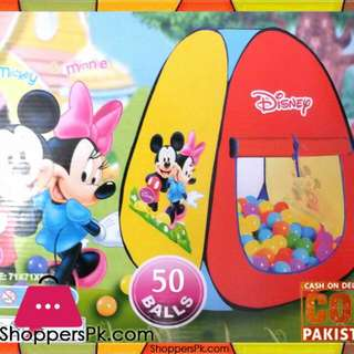Disney Kids Playing Tent
