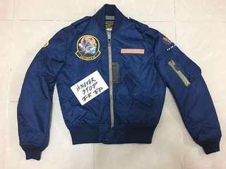 [On Hold]Workware 復刻 L2 Flying Jacket ma1 空軍外套