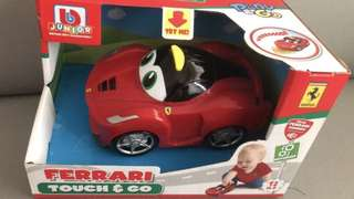 BB Junior Mini Ferrari Touch and Go