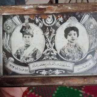 album lama pertabalan almarhum sultan Abdul Halim Muazzam Syah