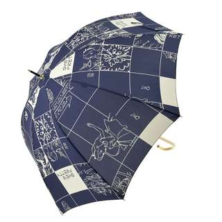 Japan Disneystore Disney Store Kingdom of Alice in Wonderland Navy Umbrella