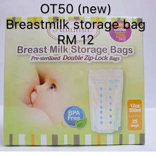🆕Breast Milk Storage Bag