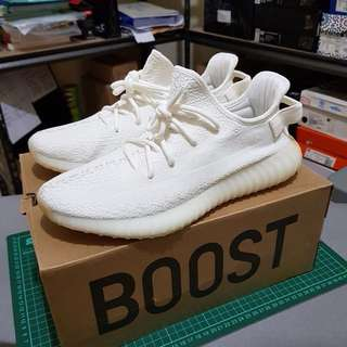 NEW ADIDAS YEEZY 350 V2 CREAM WHITE