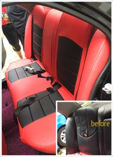 Lancer GLX leather seat cover (Customise)