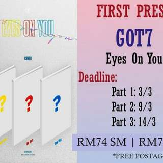 GOT7 - EYES ON YOU