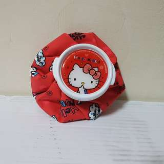 Hot/Cold Water bag - Red hello Kitty