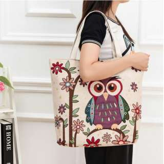 Ladies Handbags / Shoulder Bags /Jacquard Spiraea Bags / Canvas Bags