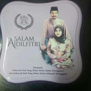 Kaleng dari Kerajaan Sultan Trengganu, Malaysia