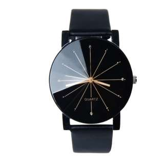 Black Jade and Juliet women's sleek watch