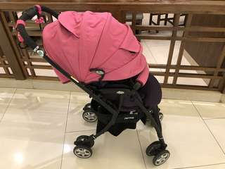 Aprica Luxuna CTS in Pink