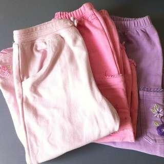3 For $8 Carter's Girls Long Pants