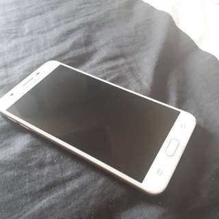 Samsung J7 Prime White & Gold + Free Slim Case