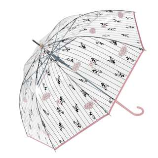Japan Disneystore Disney Store Mickey & Minnie Mouse Vinyl Jump type Umbrella
