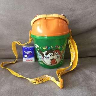 絶版東京迪士尼 Tokyo Disneyland Chip n Dale 爆谷桶 Popcorn Bucket