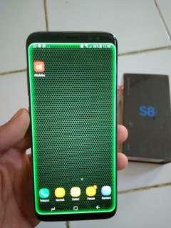 Samsung S8 Fullset 100% mulus garansi 3 bulan lagi