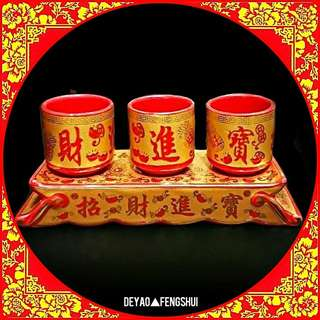 ▲BN Auspicious Religious Deity Offering Holy Water Cups▲