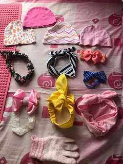 bandana - topi - turban - waslap babygirl #MakinTebel
