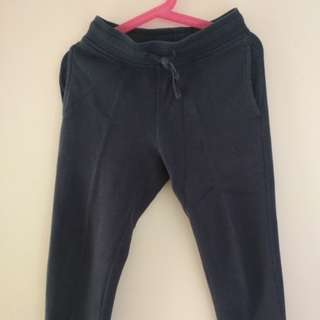 H&M dark blue training pants
