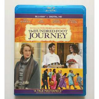 The Hundred-Foot Journey Blu Ray