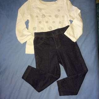 Carter's set (sweater & jegging)