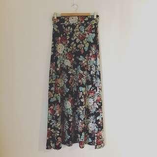 Long Maxi Warm Skirt