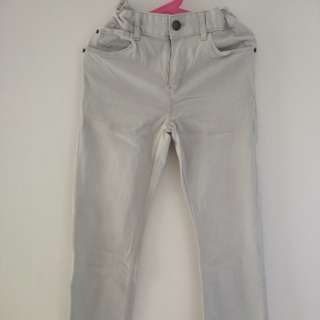 H&M light grey skinny jeans