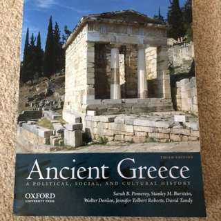 Ancient Greece - A political, social, and cultural history