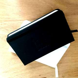 #Easter20 Single lined small and sleek note books (1 black, 1 white)