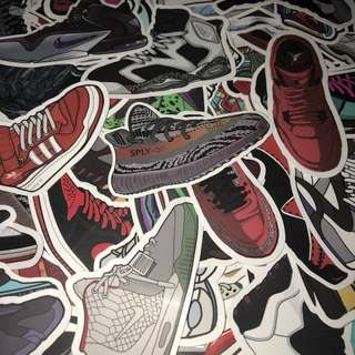 Sticker Waterproof High Quality - Brands labels and Streetwear Stickers Decal