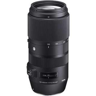 Sigma 100-400mm f/5-6.3 DG OS HSM Contemporary Lens (Canon/Nikon/Sigma)