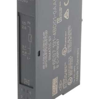 Siemens SIMATIC ET 200S PLC I/O Module 4 Inputs 24 V dc, 81 x 15 x 52 mm → 6ES7131-4BD01-0AA0