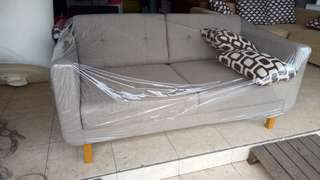 Sofa scandinavian 2 seather